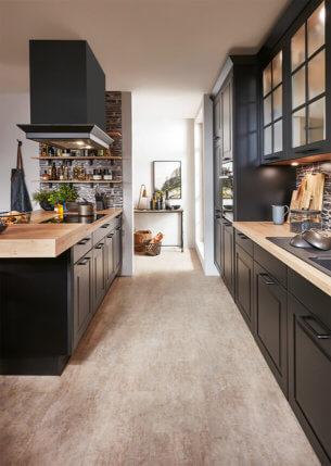 Les gammes de cuisine kitchen pose